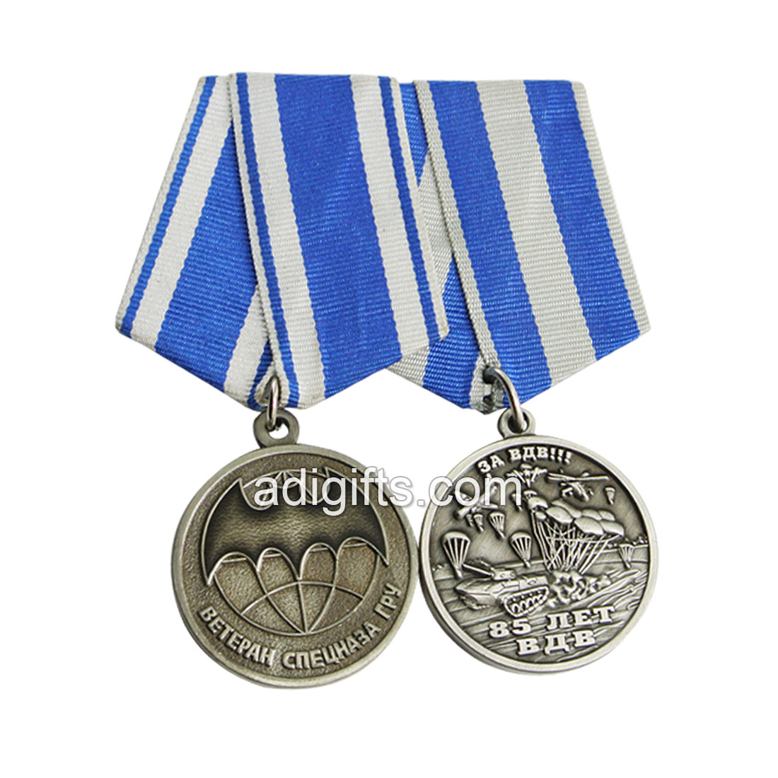 No minimum order military service medals with epoxy