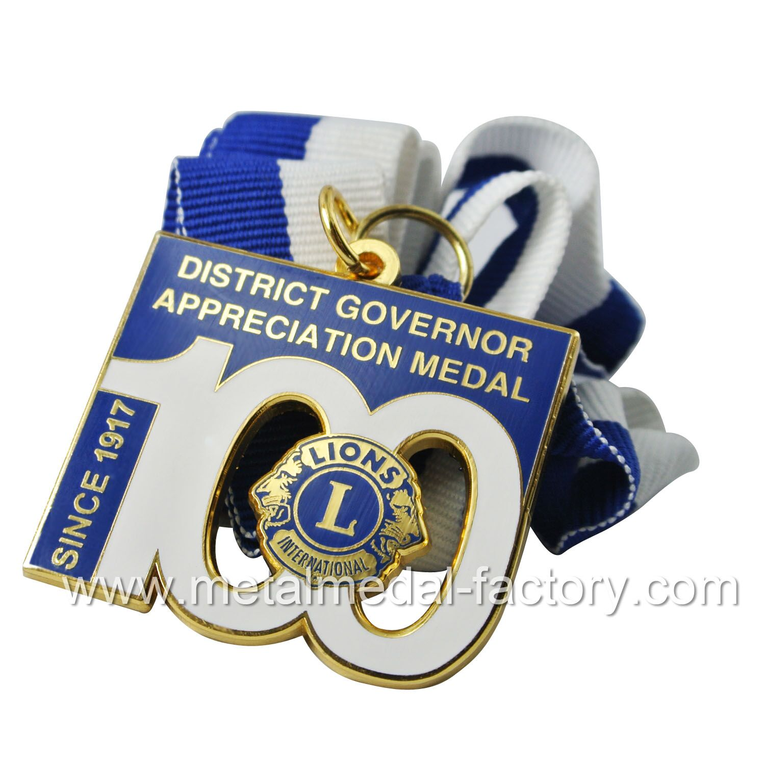 Lion Clubs medals