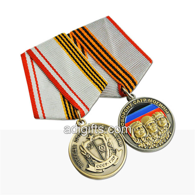 military ribbons and medals