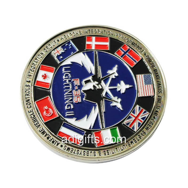 personalised coins
